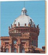 Dome On Phanar Greek Orthodox College Wood Print