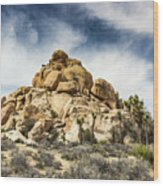 Dome Rock - Joshua Tree National Park Wood Print