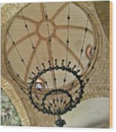 Dome Structure And Decoration Wood Print