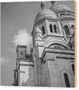 Domes Of Sacre Coeur Wood Print