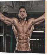 Dominant Testo Review Boost Your Testosterone Level Wood Print