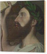 Dominique Ingres   Pindar And Ictinus Wood Print
