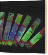 Domino Effect Wood Print