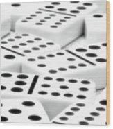 Dominoes II Wood Print