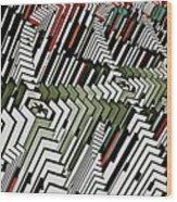 Dominos Wood Print