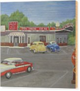 Don Carlos Drive Inn Wood Print