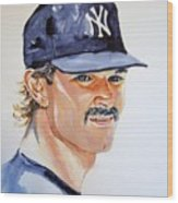 Don Mattingly Wood Print