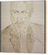 Donald Sutherland Wood Print