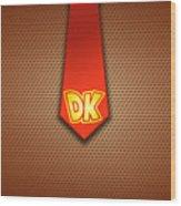 Donkey Kong Wood Print