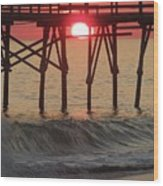 Don't Let The Sun Go Down On Me  Wood Print
