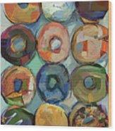 Donuts Galore Wood Print