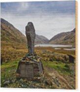Doolough Famine Memorial Cross Wood Print