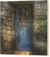 Door - A Rather Old Door Leading To Somewhere Wood Print