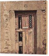 Door #3 Wood Print