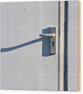 Door Entrance Wood Print
