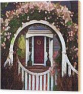 Door From A Dream Wood Print