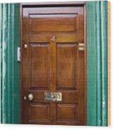 Door In Ireland Wood Print