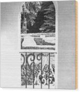 Door In The Labirinth Wood Print