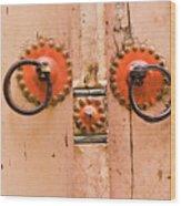 Door Knob Wood Print