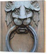 Door Knocker St. Louis Wood Print