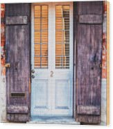 Door No. 2 Wood Print