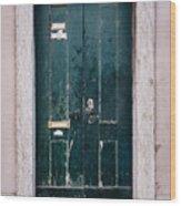 Door No 21 Wood Print
