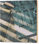 Door On The Floor Wood Print