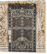 Door - Seville Spain Wood Print