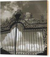 Door To Heaven Wood Print
