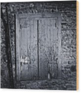 Door To Nowhere Blarney Ireland Wood Print