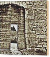 Door To Salvation Wood Print