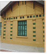 doors and windows Officialcolors Wood Print