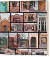 Doors Of Albuquerque Wood Print