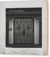 Doors Of Opportunity Wood Print