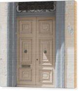 Doors Of The World 72 Wood Print