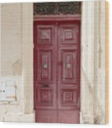 Doors Of The World 73 Wood Print