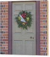 Doors Of Williamsburg 106 Wood Print
