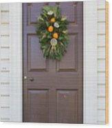 Doors Of Williamsburg 107 Wood Print