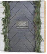 Doors Of Williamsburg 49 Wood Print