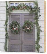 Doors Of Williamsburg 52 Wood Print