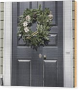 Doors Of Williamsburg 64 Wood Print