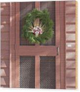Doors Of Williamsburg 87 Wood Print