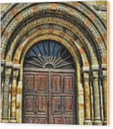 Doors To Holiness Wood Print