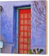 Doorway 6 Wood Print