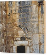 Doorway Church Of The Nativity Wood Print