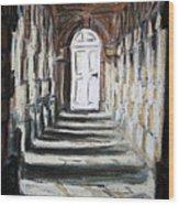 Doorway. Wood Print
