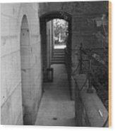 Doorway One Wood Print