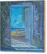 Doorway To ... Wood Print