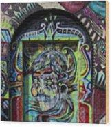 Doorway Wiiliamsburg Brooklyn Wood Print