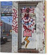 Doorway Willaimsburg Wood Print